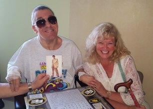 Jason and Laura at the Royal Alex.