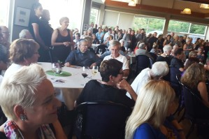 Hundreds gather to say good-bye to Loie Unwin