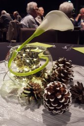 Pretty table decor