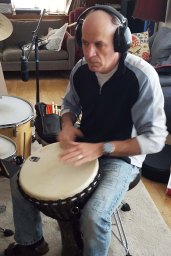 Dean on the Djembe