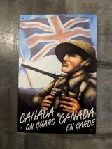 Poster at bunker