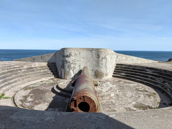 At Cape Spear Bunker