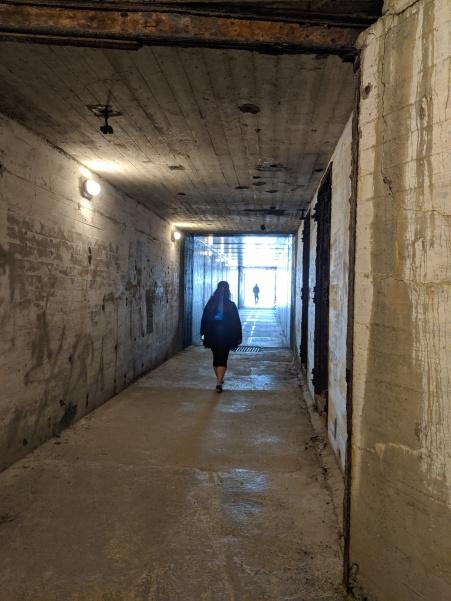 Deb in the bunker