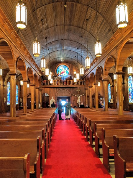 Terry at Holy Rosary Church
