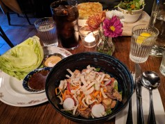 Lettuce wraps at the Town House Pub