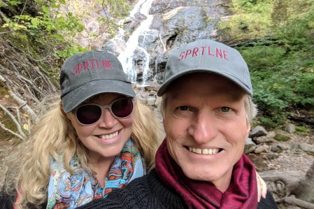 SpiritLine at the falls