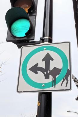Funny sign mock up