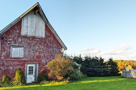 Barn at the patch