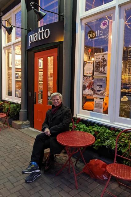 Italian dinner in Charlottetown