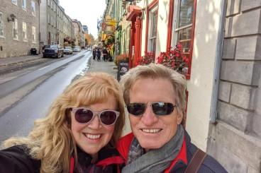 Arriving in Old Quebec