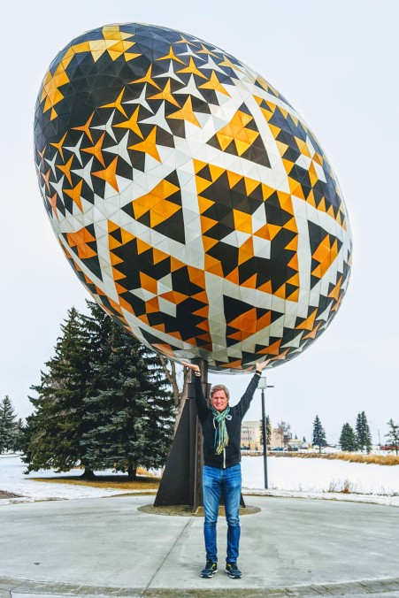 World's Biggest Pysanky