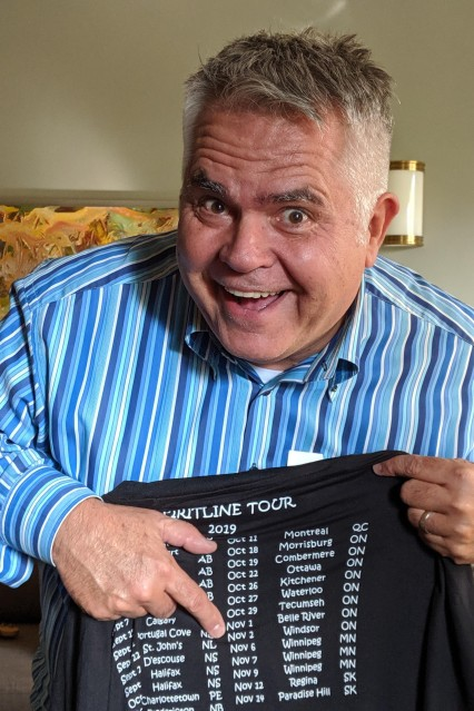 Pete's tour shirt !