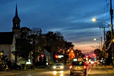 Tecumseh sunset