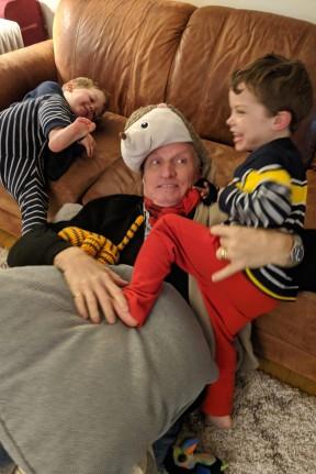 Attack Grandpa !
