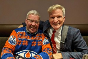 Oilers' number one fan!