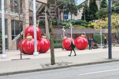 Giant Christmas Tree Balls