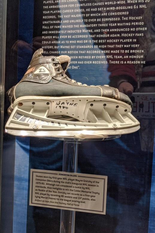 Wayne Gretzky's Skate