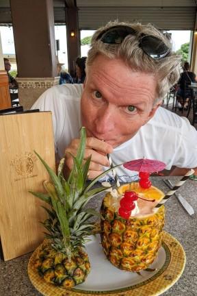 "Terry at "" Pineapples """