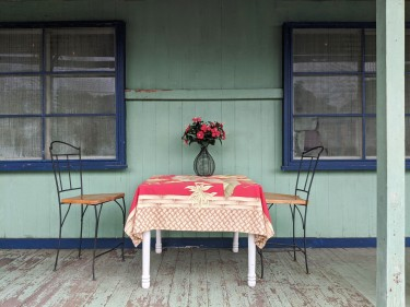 Pretty Porch Table