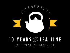 The new ' Tea ' Shirt !