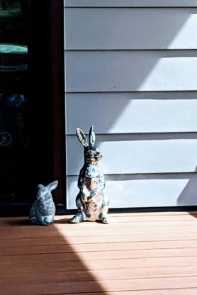 BunnyStatues